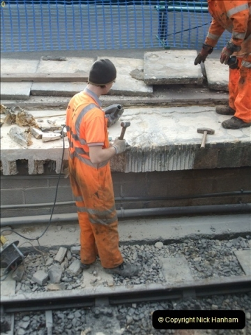 2012-01-23 SR Engineering Work on the 08.  (77)0077