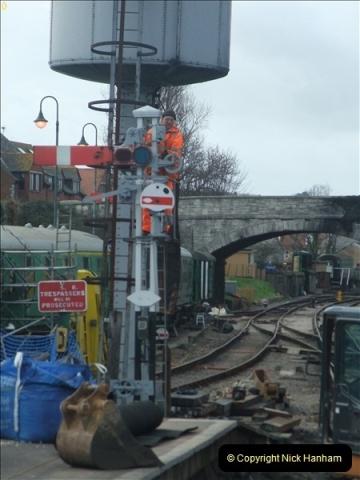2012-01-23 SR Engineering Work on the 08.  (98)0098