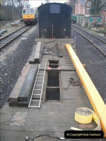 2012-01-30 SR Engineering Work on the 08.  (53)0259