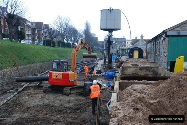 2012-01-31 SR Engineering Work on the 08.  (167)0456