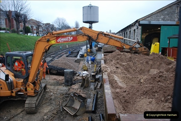 2012-01-31 SR Engineering Work on the 08.  (195)0484