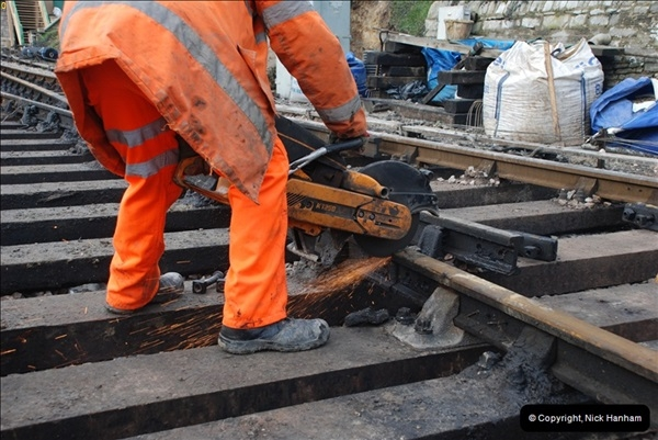 2012-02-07 SR Engineering Work on the 08 (122)0609