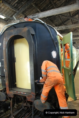 2012-02-07 SR Engineering Work on the 08 (144)0631