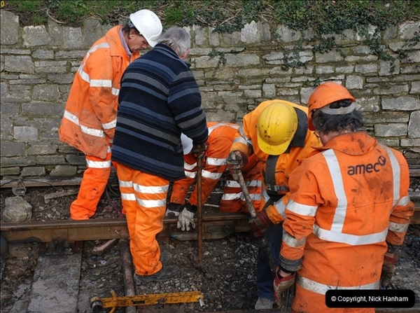2012-02-07 SR Engineering Work on the 08 (151)0638