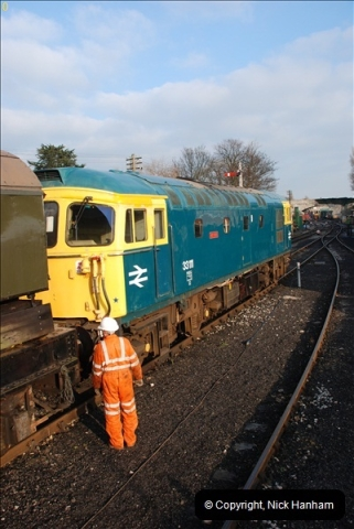 2012-02-07 SR Engineering Work on the 08 (201)0688