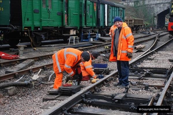 2012-02-07 SR Engineering Work on the 08 (94)0581