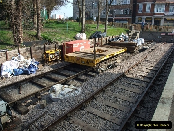 2012-03-24 SR Railway At Work Weekend. Your Host on the DMU.  (11)011