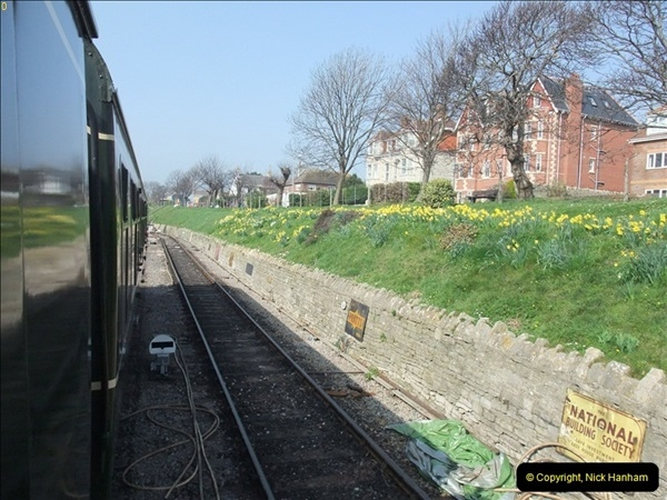 2012-03-24 SR Railway At Work Weekend. Your Host on the DMU.  (15)015