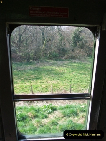 2012-03-24 SR Railway At Work Weekend. Your Host on the DMU.  (16)016