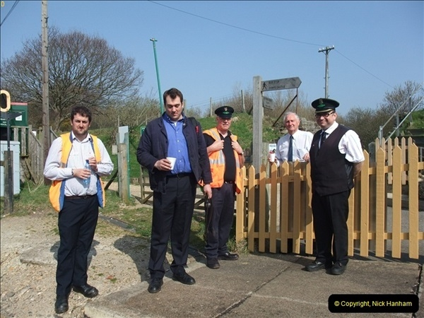 2012-03-24 SR Railway At Work Weekend. Your Host on the DMU.  (18)018