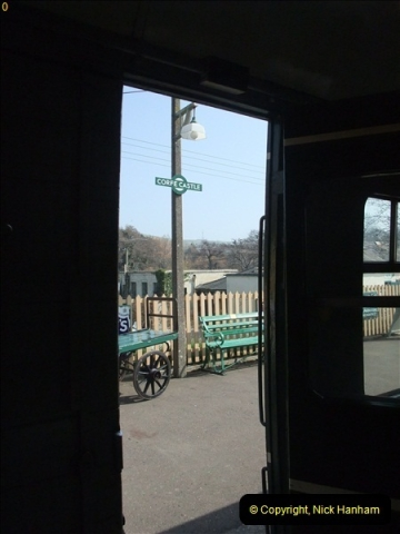 2012-03-24 SR Railway At Work Weekend. Your Host on the DMU.  (20)020