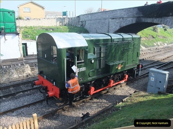 2012-03-24 SR Railway At Work Weekend. Your Host on the DMU.  (3)003