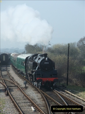 2012-03-24 SR Railway At Work Weekend. Your Host on the DMU.  (31)031