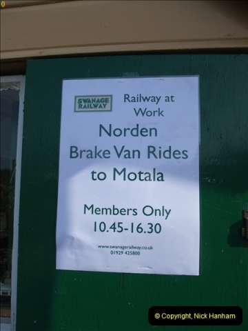 2012-03-24 SR Railway At Work Weekend. Your Host on the DMU.  (42)042