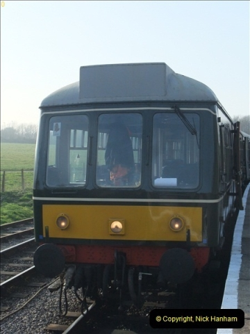 2012-03-24 SR Railway At Work Weekend. Your Host on the DMU.  (43)043