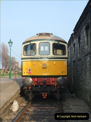 2012-03-24 SR Railway At Work Weekend. Your Host on the DMU.  (47)047