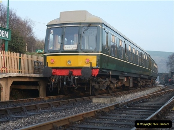 2012-03-24 SR Railway At Work Weekend. Your Host on the DMU.  (55)055