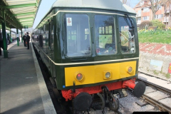 2012-03-24 SR Railway At Work Weekend. Your Host on the DMU.  (13)013