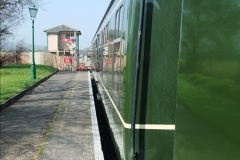 2012-03-24 SR Railway At Work Weekend. Your Host on the DMU.  (17)017
