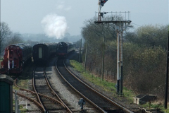 2012-03-24 SR Railway At Work Weekend. Your Host on the DMU.  (29)029