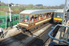 2012-03-24 SR Railway At Work Weekend. Your Host on the DMU.  (38)038