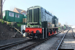 2012-03-24 SR Railway At Work Weekend. Your Host on the DMU.  (4)004