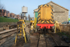 2012-03-24 SR Railway At Work Weekend. Your Host on the DMU.  (48)048
