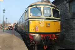 2012-03-24 SR Railway At Work Weekend. Your Host on the DMU.  (49)049