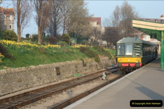 2012-03-24 SR Railway At Work Weekend. Your Host on the DMU.  (54)054