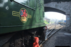 2012-03-24 SR Railway At Work Weekend. Your Host on the DMU.  (6)006