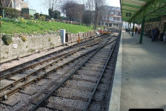 2012-03-24 SR Railway At Work Weekend. Your Host on the DMU.  (9)009