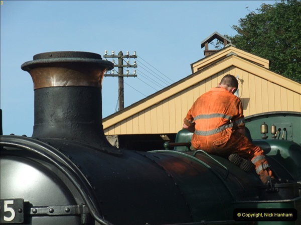 2012-09-17 Early Steam on 30053.  (45)202