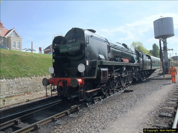 2014-05-19 Driving West Country Class 34028.  (24)407