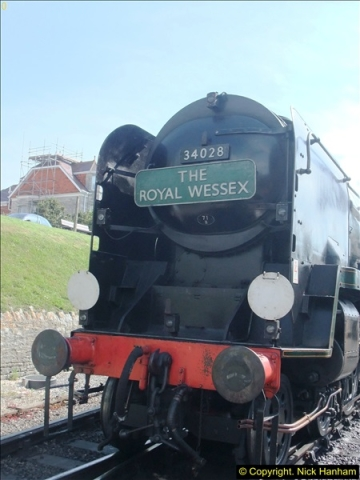 2014-05-19 Driving West Country Class 34028.  (25)408