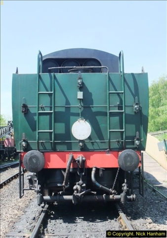 2014-05-19 Driving West Country Class 34028.  (58)441