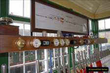 2011-02-15 Corfe Castle & Norden Signaling + May (22)022