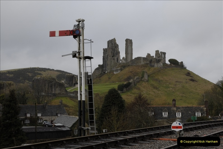 2011-02-15 Corfe Castle & Norden Signaling + May (35)035
