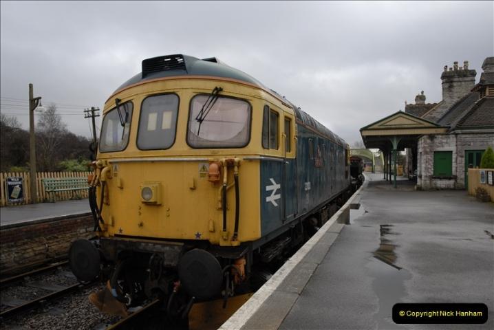 2011-02-15 Corfe Castle & Norden Signaling + May (39)039