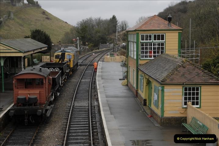 2011-02-15 Corfe Castle & Norden Signaling + May (42)042