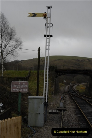 2011-02-15 Corfe Castle & Norden Signaling + May (47)047