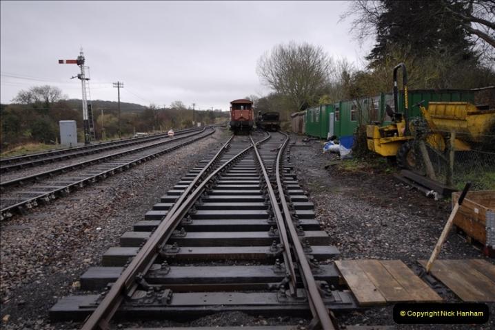 2011-02-15 Corfe Castle & Norden Signaling + May (5)005