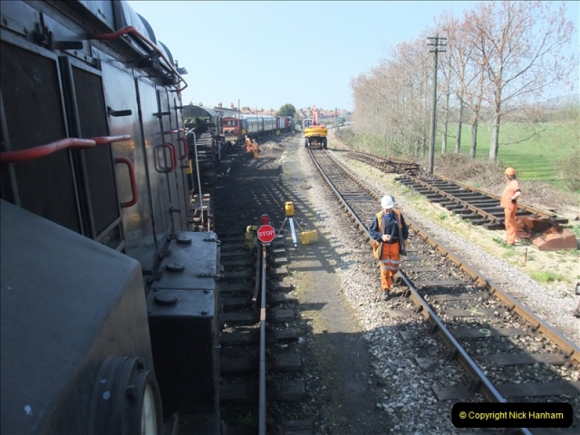 2011-03-23 SR Track Work. Your Host driving the 08 (43)319