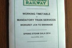 2014 SR First Spring Steam Gala