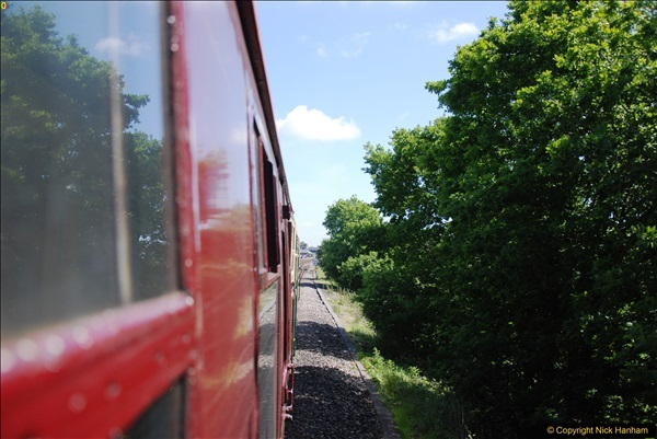 2017-06-13 SR first return service Swanage - Warehan - Swanage.  (122)122