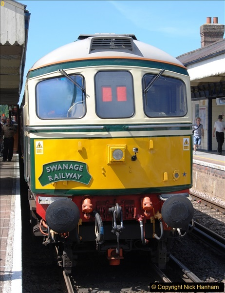 2017-06-13 SR first return service Swanage - Warehan - Swanage.  (129)129