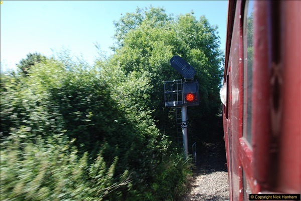 2017-06-13 SR first return service Swanage - Warehan - Swanage.  (158)158