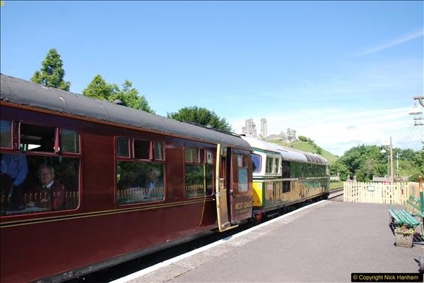 2017-06-13 SR first return service Swanage - Warehan - Swanage.  (199)199
