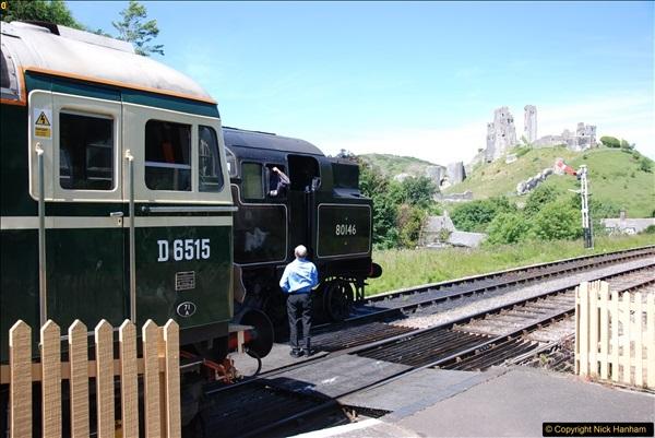 2017-06-13 SR first return service Swanage - Warehan - Swanage.  (202)202