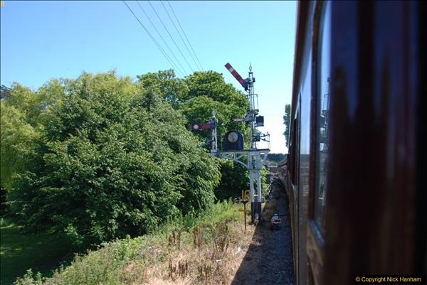 2017-06-13 SR first return service Swanage - Warehan - Swanage.  (220)220