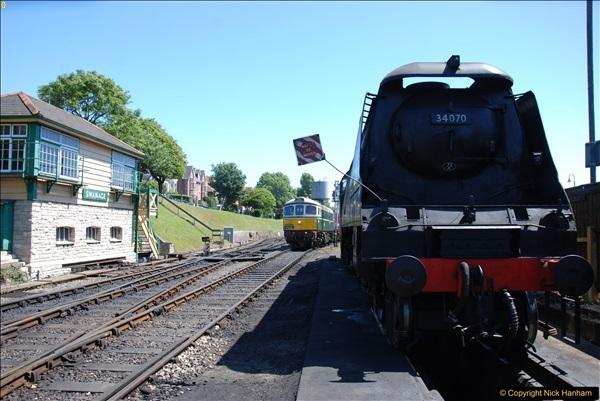 2017-06-13 SR first return service Swanage - Warehan - Swanage.  (229)229